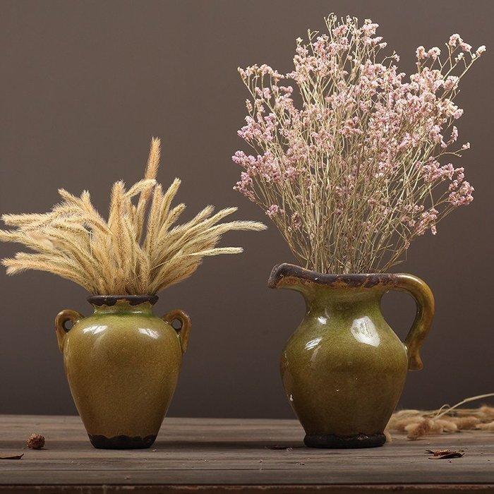 〖洋碼頭〗北歐簡約復古懷舊陶瓷花瓶客廳幹花花器擺件酒店樣板房軟裝飾擺設 hbs176