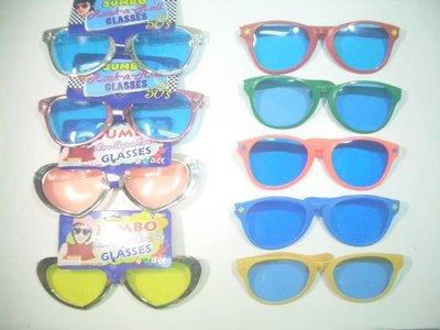 超大 假 眼鏡23cm PARTY可用30款可選 每隻99元3隻免運費