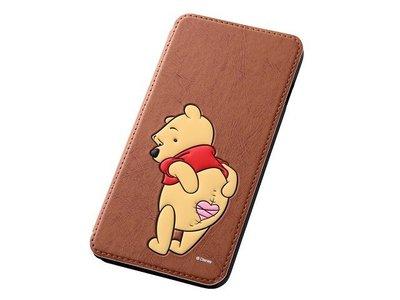 尼德斯Nydus~* 日本Disney 迪士尼 小熊維尼 Pooh 翻頁式 手機殼 iphone6+ plus 5.5吋