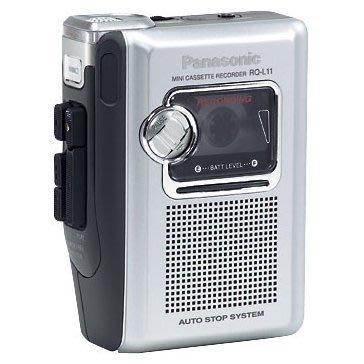 Panasonic 國際牌 錄放音機 密錄機 隨身聽 錄音機 (RQ-L11) 使用一般卡帶