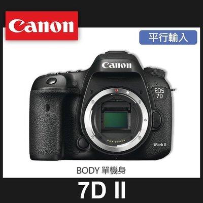 【平行輸入】Canon EOS 7D Mark II 單機身 7D2 Body 65點對焦點 高速對焦 屮R5
