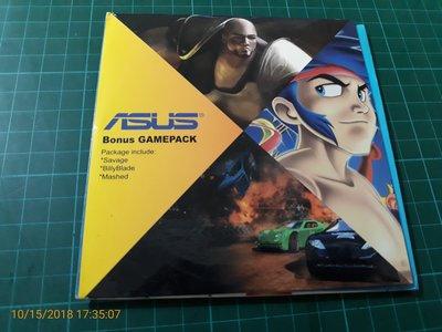 早期電腦遊戲 《ASUS Bonus GAMEPACK 》SAVAGE  BILL BLADE  MASHED 三片合售