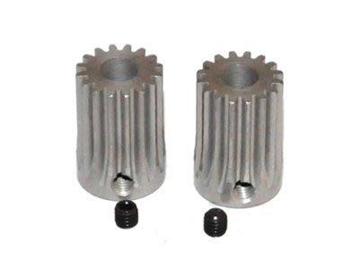 Outrage 鋼製齒輪軸16T 0.8M (6mm shaft)-2入(HR1179-16SS)