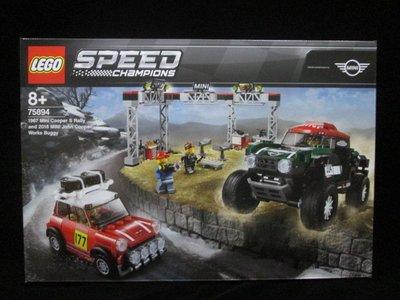 (STH)LEGO 樂高1967 Mini Cooper and 2018 MINI John Cooper 75894