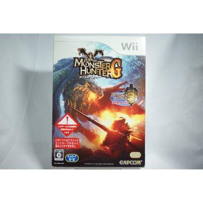 [耀西]二手 任天堂 Wii 純日版 魔物獵人 G