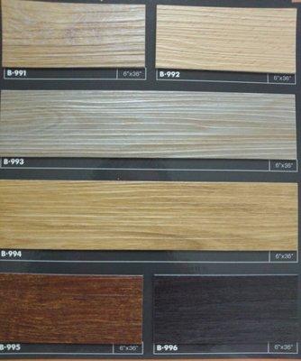 超耐磨長條木紋塑膠地磚