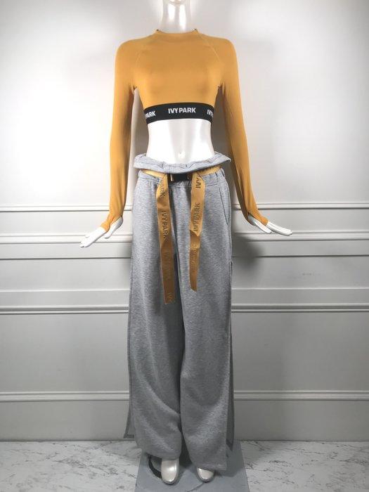 [我是寶琪] 侯佩岑二手商品 全新未穿 Ivy Park 上衣+灰色寬褲