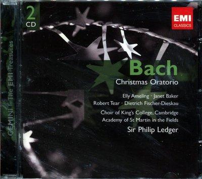 【嘟嘟音樂坊】艾梅琳&蓓克 -雷格 Ledger - 巴哈 J.S.Bach 聖誕神劇 2CD  (全新未拆封)