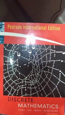Discrete Mathematics ISBN:0321383281  九成新