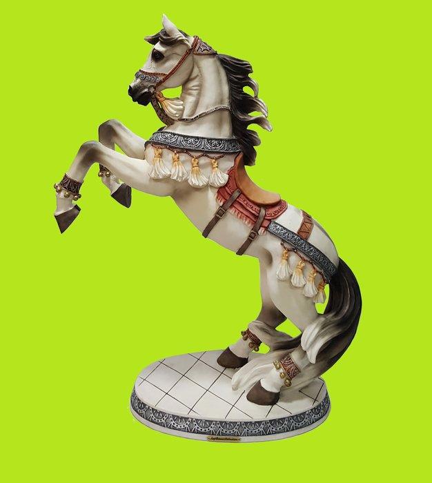 【喬尚拍賣】駿馬擺飾 歐風擺飾 樣品貨 高度75公分