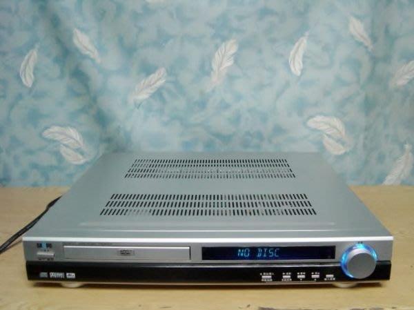 保固3個月【小劉2手家電】SAMPO 2.1聲道重低音FM擴大機,可外接音輸入,壞機可修理/回收!