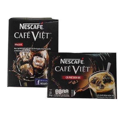 越南進口 NESCAFE雀巢特濃二合一黑咖啡速溶包240g/16g/15小包/1盒。現貨商品。