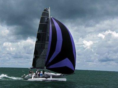 訂做31呎三體帆船trimaran(有模具)遊艇,釣漁魚船,獨木舟,橡皮艇,sailboat,重型帆船