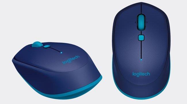 【鳥鵬電腦】Logitech 羅技 M337 藍牙滑鼠 藍 雷射 適用 Mac Chrome OS Android