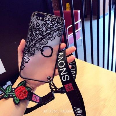 OPPO Realme X50 X2 6 5 3 pro XT X lite 手機殼 歐美潮牌 復古蕾絲 支架指環扣殼
