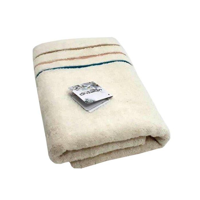MORINO 時尚機能~【MORINO摩力諾】有機棉三緞條方巾毛巾浴巾組【禮盒裝】免運
