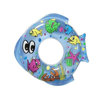 【Treewalker露遊】090099 海魚造型彩繪泳圈 兒童泳圈 造型泳圈