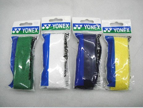 Ψ山水體育用品店Ψ【YONEX 配件】YY AC 402 EX 外層 吸汗 高級握把布 握把皮 毛巾布 共4色 羽球網球