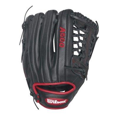 【出清價】 WILSON A500 棒球手套 T網 投手 三壘手 12吋 北美牛皮 WTA05RB1612
