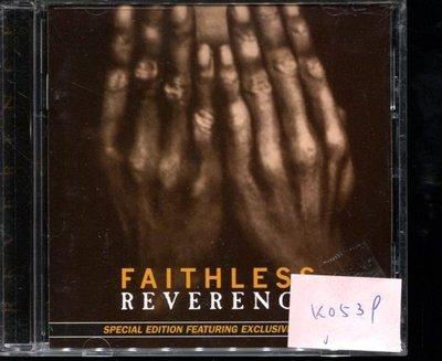 *真音樂* FAITHLESS / REVERENCE 二手 K0539   (清倉.下標賣2)
