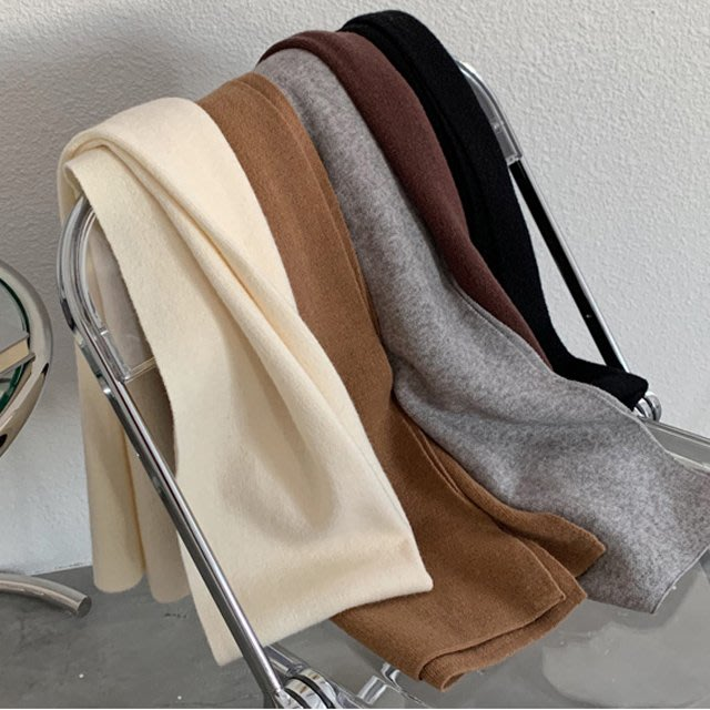 【F5399】棉花糖感舒適圍巾5色F.預購。小野千尋
