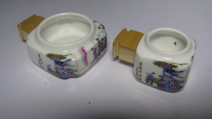 12金釵~鳥食罐 鳥食器 鳥食杯 適合 中小型鳥 綠繡眼 小雲雀 金絲雀 間隙12MM
