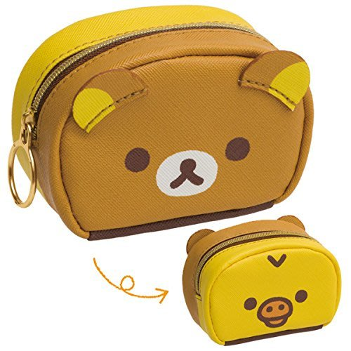 (現貨)日本 San-X 拉拉熊 Rilakkuma 小黃雞 懶懶熊 零錢包 小物包 小包 錢包