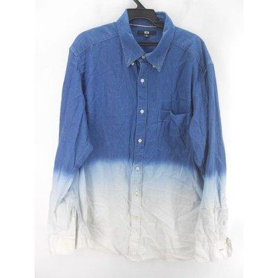 UNIQLO 藍白漸層襯衫 H&M.GU.Tommy.POLO.NAUTICA.A&F.ZARA.gap.levis