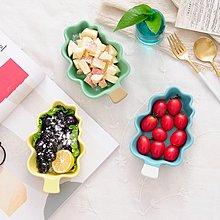 可愛小樹創意陶瓷烤碗烤盤水果沙拉碗早餐碗雪糕慕斯碗
