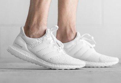 【E.D.C】Adidas Ultra Boost 3.0 White 科技底 馬牌 男鞋 BA8841