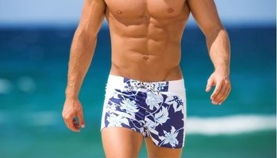 APPLE JUICY【ZX-65】MAN AWARE 舒適寬鬆運動型沙灘褲 M XL 號 買五再送一