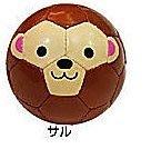【小糖雜貨舖】日本 Football Zoo SFIDA 兒童用專業足球 手工縫製足球 盒裝 適合送禮- 猴子