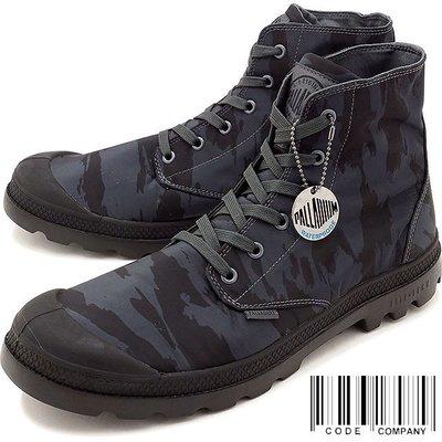 =CodE= PALLADIUM PAMPA PUDDLE LITE WP 防水輕量軍靴(黑迷彩)73085-068 男