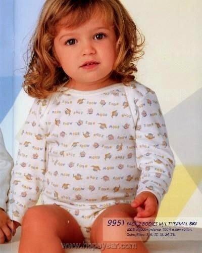 【西班牙 Abanderado】(B951)嬰兒連身衣磨毛小娃娃(12~24)