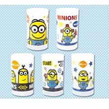 全新 日本 景品 Minions 迷你兵 Glass Set 套裝 杯 ( 1套5隻 )