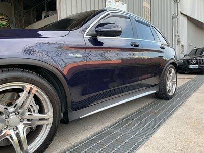 賓士 Benz x253 GLC63側裙套件