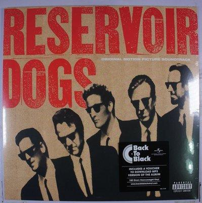 《全新歐版黑膠》 Reservoir Dogs 霸道橫行 原聲帶