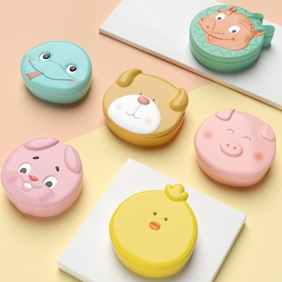 小花花精品店-乳牙盒女孩紀念兒童換牙收納盒寶寶胎發保存收藏男孩裝牙齒的盒子