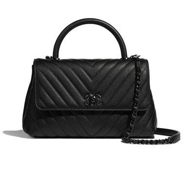 【英國連線代購】Chanel Flap Bag With Top Handle  Coco handle 側背包 免運中