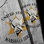 【TOP MAN】 TOYS U.S.MARSHALTEE美式復古亨利領TEE短袖T恤 20652110