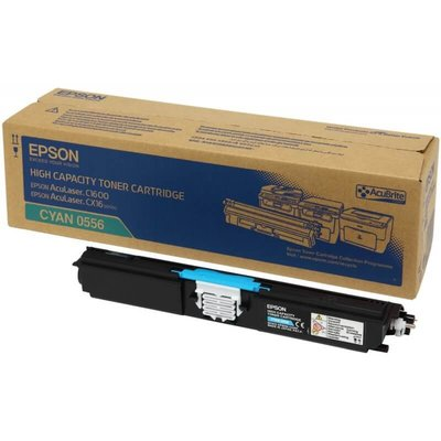麗康墨盒 Epson C13S050556 (CX16/ C1600) 加大裝 藍色 Cyan 全新原裝碳粉盒 香港行貨保養
