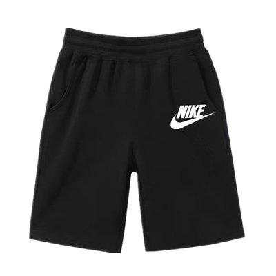 耐吉 Nike 男童短褲 夏季薄款五分褲 2020新款寬松中大童兒童裝男孩純棉加肥潮