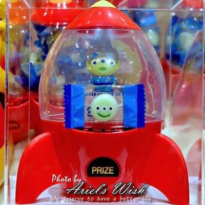 Ariels Wish-日本Tokyo東京Disney迪士尼限定玩具總動員三眼怪火箭筒夾娃娃機爪子糖果機禮盒組-現貨