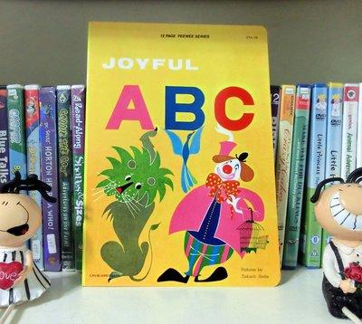 *【兒童英語繪本】*小pen外文童書的家~ Joyful ABC