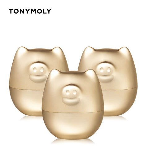 ☆愛寶韓國空運☆ TONYMOLY 2019限定 金豬果凍黃金面膜 三瓶組 【免稅店代購】