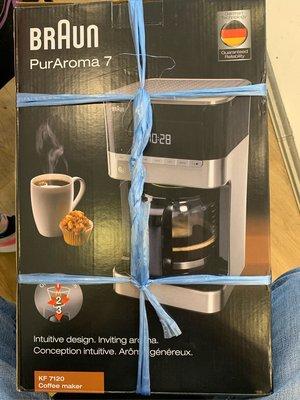Braun 7 咖啡機
