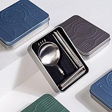 【口袋餐具】北歐 葡萄牙 304不鏽鋼 餐具 湯匙 筷子 刀子 叉子 黑色 金色 玫瑰金 環保 旅行餐具 交換禮物