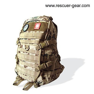 (代購) 美英法軍用戰術後背包 RESCUER拯救者 ( 迷彩色 )