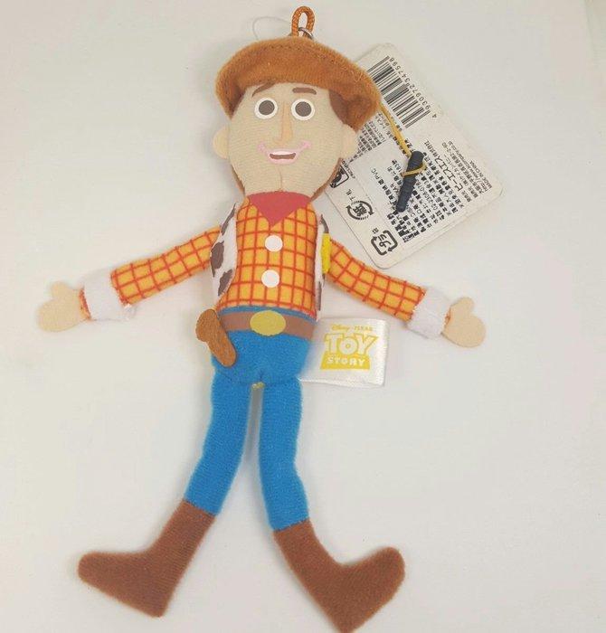 【UNIPRO】日貨 胡迪 Woody 警長  3.5mm 手機 平板 絨毛防塵塞 娃娃 玩偶 布偶 吊飾 玩具總動員