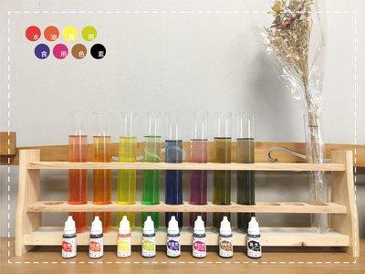 連食用色素都幫你找來了 上色的問題我不會也很合理 我只是個賣原料的~水油兩用食用色素10ml 手工皂DIY 矽藻土 蠟燭